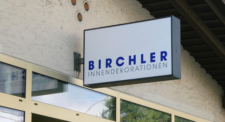 Portr t birchler innendekoration for Innendekoration meggen